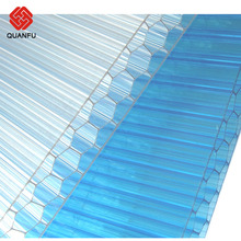 10Years Warranty polycarbonate PC 6mm-18mm plastic honeycomb sheet