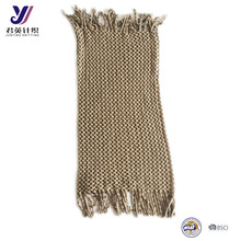 Fashion knitted tassel infinity scarf unsex long necklace scarf