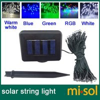 100 LED green Solar Fairy string Lights for Garden Party Christmas
