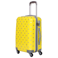 Cute Dot Printed Hard Luggage