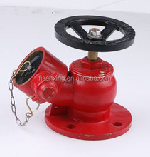 fire fighting valve Flange Type 2.5'' Fire Hydrant Brass Landing Valve