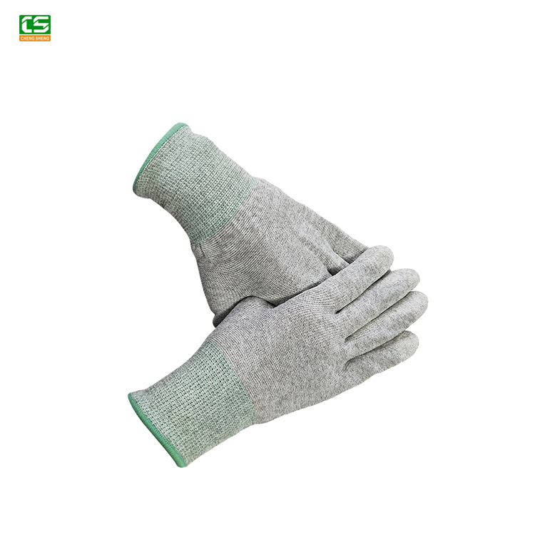 Wholesale ESD Electric Pu Coated Palm Fit <strong>Gloves</strong> Manufacturer