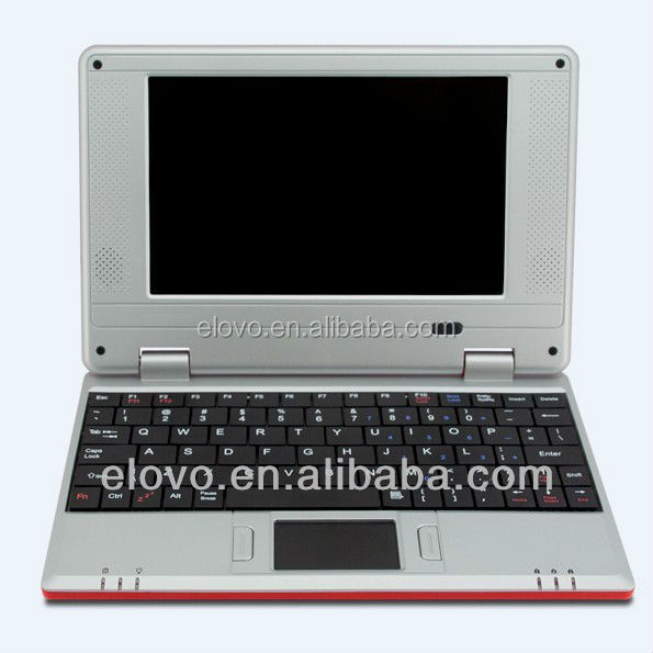 Manufacture in China 7' Mini student laptops WM8650 Android2.2 256M/4G student netbook 7'cheapest WIFI Netbook