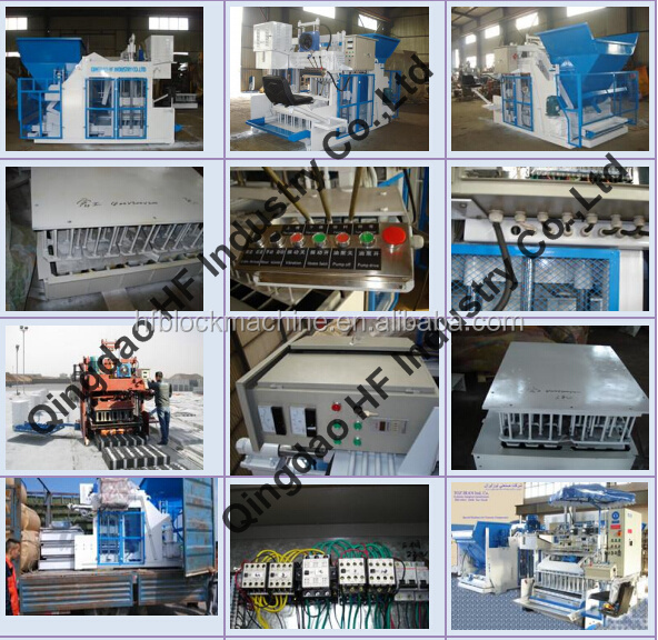 Made in China QTM10-15 mobile concrete hollow block making machine