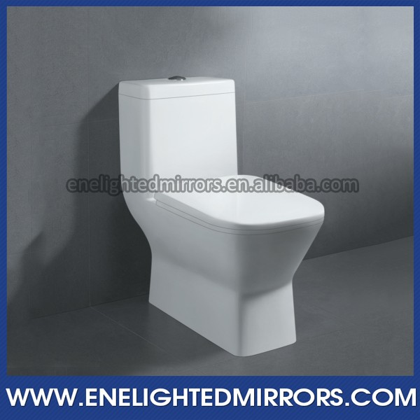 Lavatory hot sale top quality one piece single flushing toilet