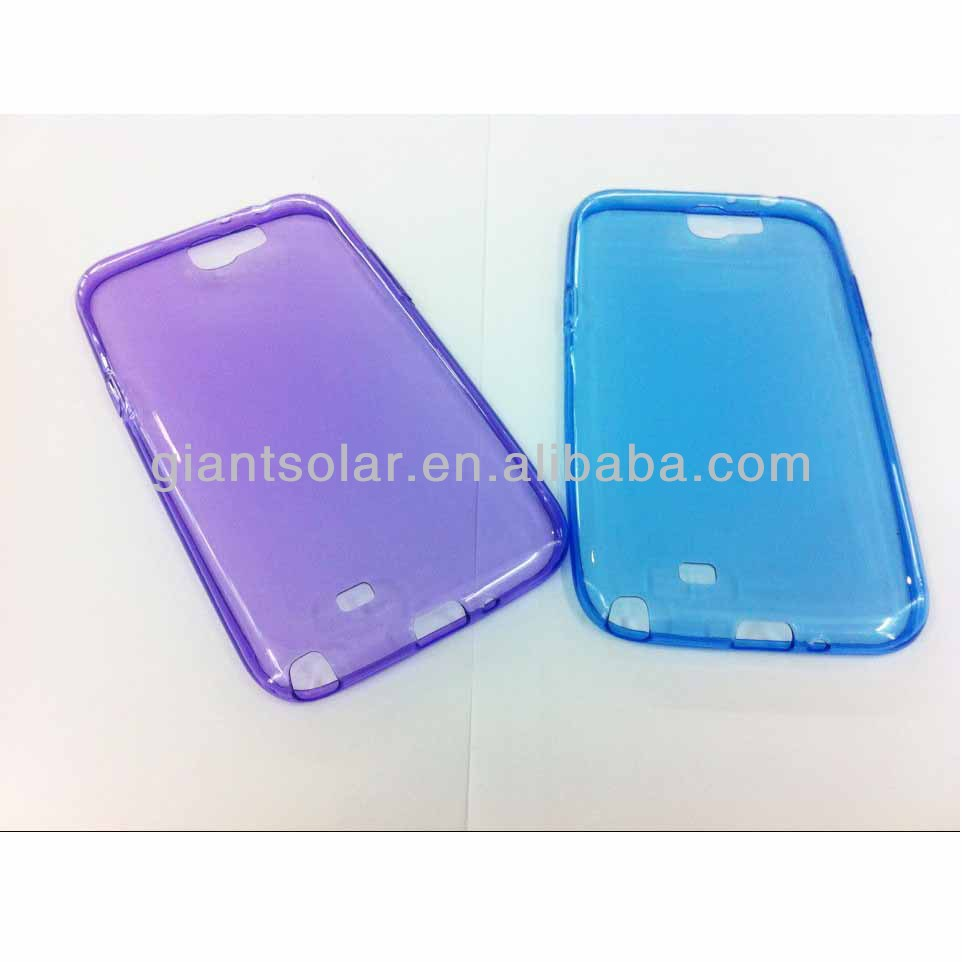 Super thin slim 0.3mm TPU transparent tpu case for samsung Galaxy Star S5282