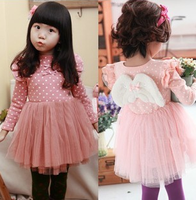 Beautiful Casual Dresses Puffy Princess Dresses Girl Baby Kids Fashion Angels