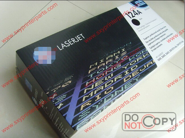 124A Original box pack q6000a alibaba toner cartridge supplier Q6000A Q6001A Q6002A Q6003A