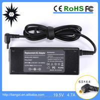 VGP-AC19V40 19.5V 4.7A 6.5mm/1-pin AC Power Adapter Charger for SONY Notebook PC - 01882B
