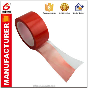 MOPP release film Red tape