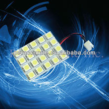 Auto LED Bulb 5050 20 SMD Car Indoor Reading Lamp PCB 20SMD car license plate