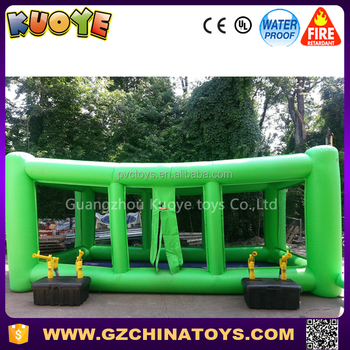 2017 hot sale fastest shot inflatable air cannon balls blast