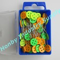 46mm Honby bright button head quilting head pins