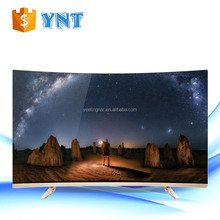 "CURVED 50''55''60'' 65""inch LED led tv kit with smart android original new A grade IPS panel 4k curved tv"