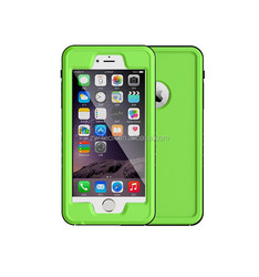 Shock Absorbing Case, Rubber Combo Hybrid Impact Silicone Armor Hard Case Cover for Apple iPhone 6plus