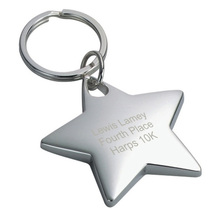 High Quality Custom 3D shapes keychain Blank metal keychain