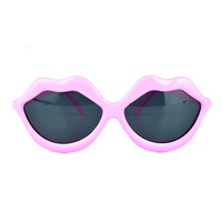 Funky Love Lip Shape Kiss Party Shades Sunglasses For Women Or Girls sunglasses women