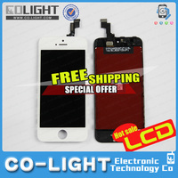 Free DHL! OEM cell phone spare parts for iphone 5s lcd for iphone 5s 64gb lcd
