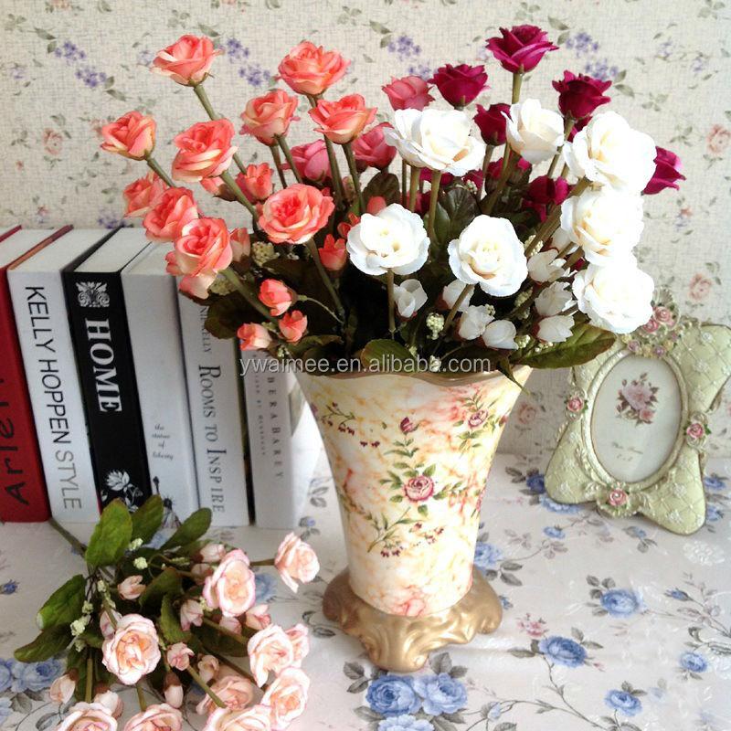 gro handel dekorativen blumen strumpf gef lschte rose blume miniatur blumen k nstliche uhr. Black Bedroom Furniture Sets. Home Design Ideas