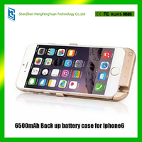 6500mAh Back up battery case for iphone6