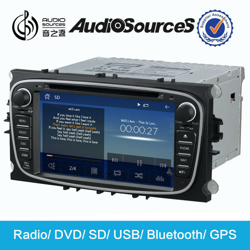 Car Radio with Wince System for Ford GPS Navigation Supports Morrior Link DVB-T Bluetooth SWC