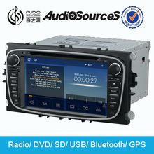 navigator for ford s max with GPS radio SD USB CD support hands free call phonebook SWC DVB-T2 3G