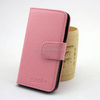 Pure color book style for Gfive G9, wallet card holder case for Gfive G9