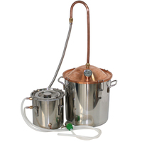 Small Capacity Stainless Alcohol Distiller Liquor