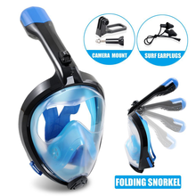 Customized professional 100% waterproof panoramic snorkel diving mask