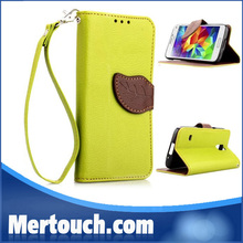 for samsung galaxy S5 mini leather case , leather case for samsung galaxy S5 mini