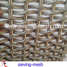 Durable metal architectural drapery for wall covering factory