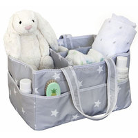 Fashion wholesale star design polyester diaper bag mummy bags diaper caddy organizer