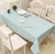 Wholesale Plastic Waterproof Printed Tablecloth PVC