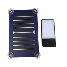 Waterproof portable and foldable with 12v battery usb port mobile phone solar charger