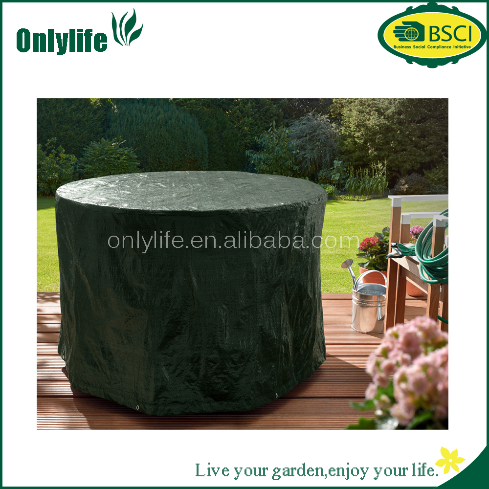 PE Heat Resistance Outdoor Rectangular Patio Set Cover Furniture Cover