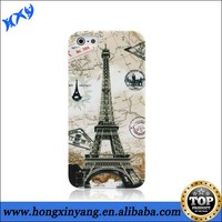 Eiffel tower phone cases for iphone 5c,plastic custom phone cases for iphone 5c