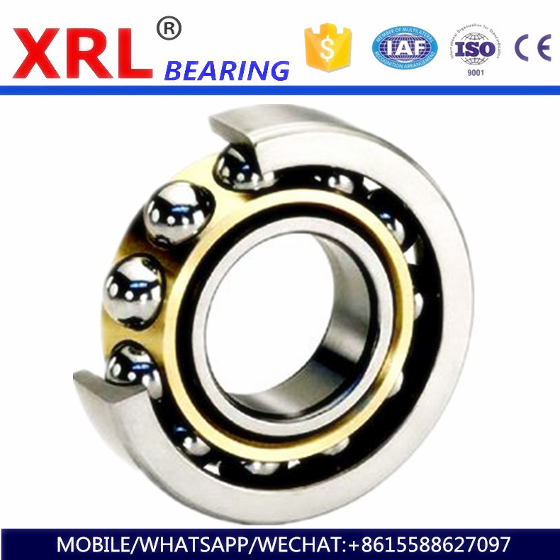 gold supplier less vibration heavy duty angular contact ball bearing 46100