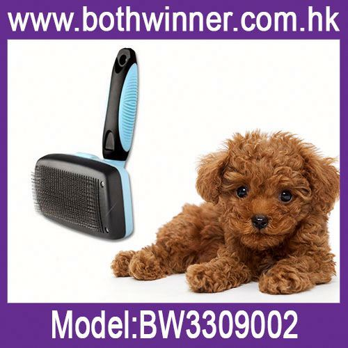Dog and cat brush for shedding pet grooming scissors set shedding tool