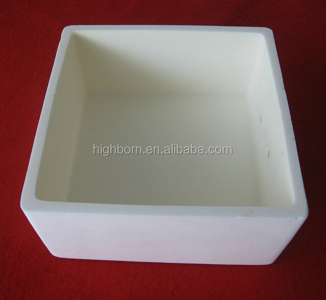 Alumina Boat 800ml Ceramic Crucible