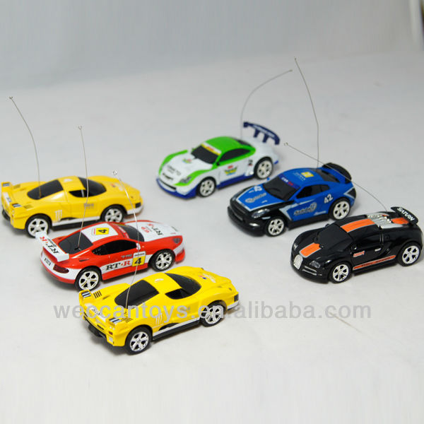 SG-C2010 Nice promotion gift! 1:58 rc miniature model car in coke can