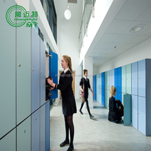 HPL compact factory,impact lockers,good use,cheap and rich color,beautiful,anti-water