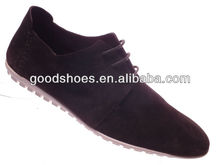 Soft outsole with rubber folding leather shoes men hot sell 2014