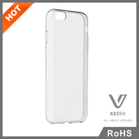 JULES.V Transparent TPU Case Cover for iPhone 6 4.7 Ultra-thin Phone Case for Apple iPhone 6 Plus Case With Package