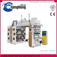 Sale Changhong brand high speed six Color Plastic Film flexography Printing Machine price