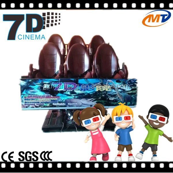 80 Movies for Free 5D Theater & 5D Cinema From Mantong Manufacturer