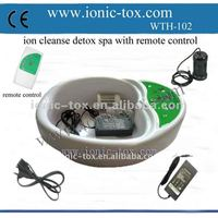 New style Ionic cleanse life detox machine with remote contril