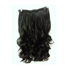 New Hairpiece Curly 5 Clips in Hair Styling Synthetic Extensions