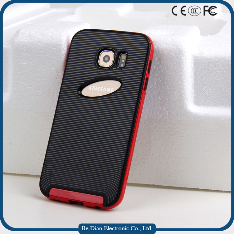 Shockproof Rugged Back Cover Case Handphone Casings for Samsung Galaxy S6