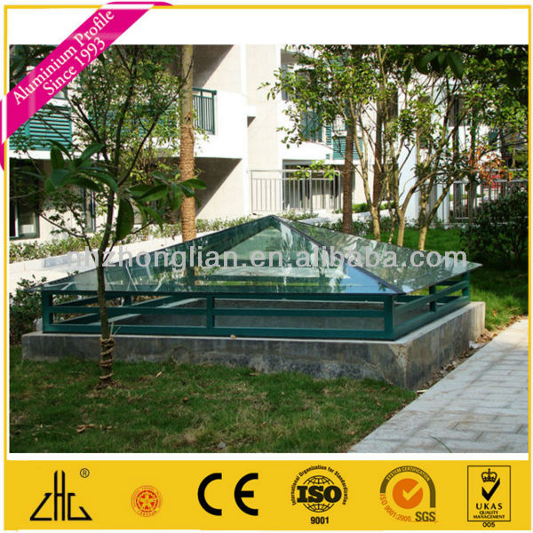 wow 6063t5 6061t6 aluminium berdachung profile f r. Black Bedroom Furniture Sets. Home Design Ideas