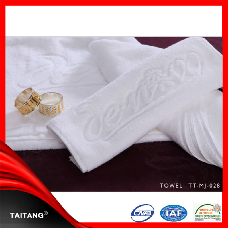 2014 High quality factory stock 100% cotton baby organic towel